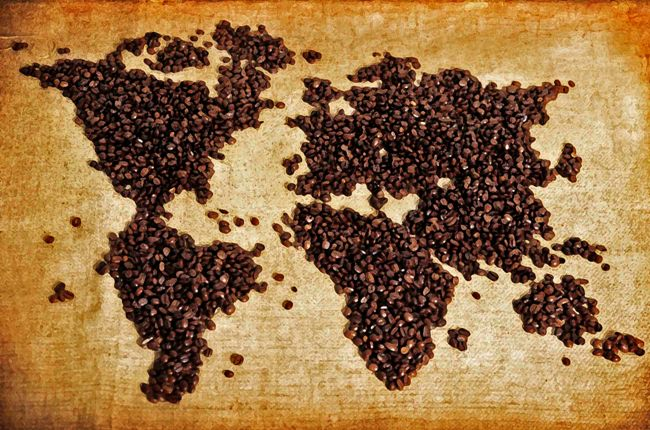 coffee map